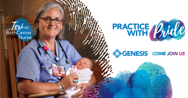 Genesis Health System Practice with Pride Campaign