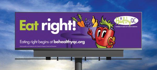 QCHI Eat Right Billboard