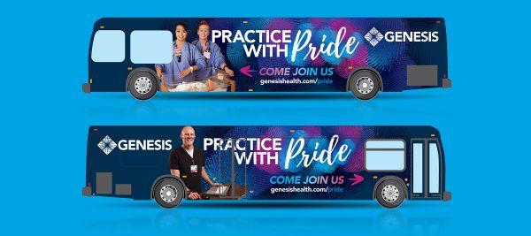 Genesis Bus Wrap