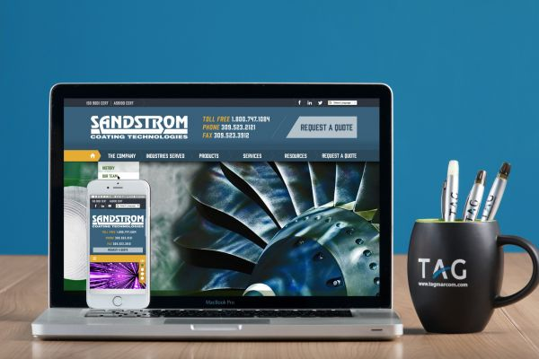 Sandstrom Website